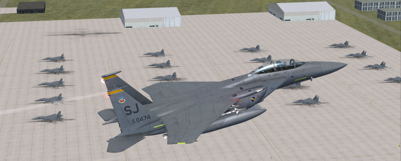 F-15E Missions, AI Traffic, and Airbases - milviz com
